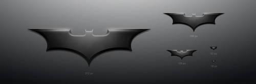 Batman's shuriken icon