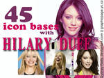 Icon bases feat. Hilary Duff
