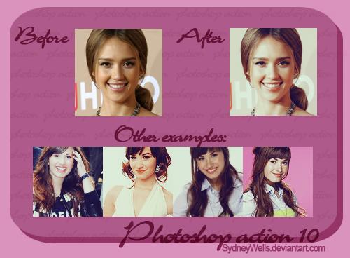Photoshop action 10 by SydneyWells