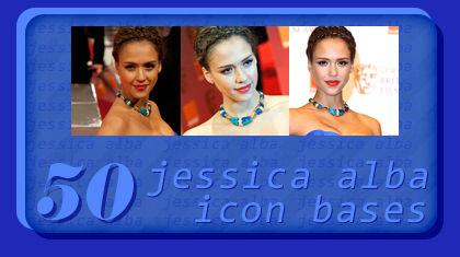 50 Jessica Alba icon bases