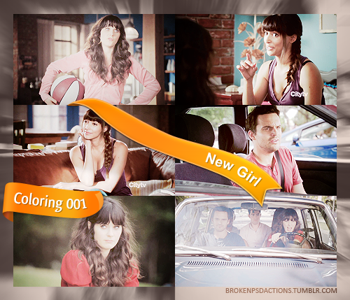 New Girl screencaptures coloring 001