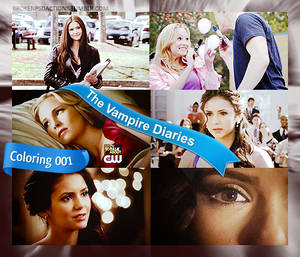 The Vampire Diaries screencaptures coloring 001