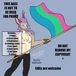 [F2U]Pride Base - Anthro