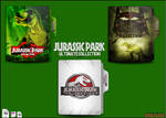 Jurassic Park Collection Folders by Meyer69