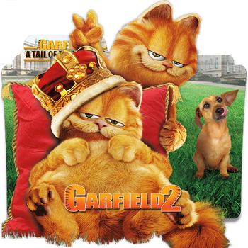 Garfield 2 Folder Icon by Meyer69