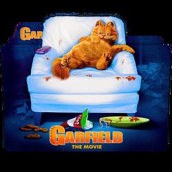 Garfield The Movie Folder Icon by Meyer69