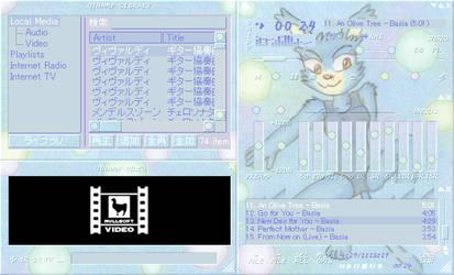Nemu Winamp Skin 005 by Nekomarunosuke