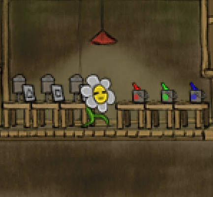 Flowershop Tale Art - Animated Inside