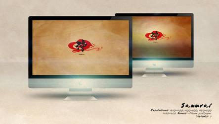 Samurai Wallpaper Set
