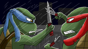 Leo vs Raph