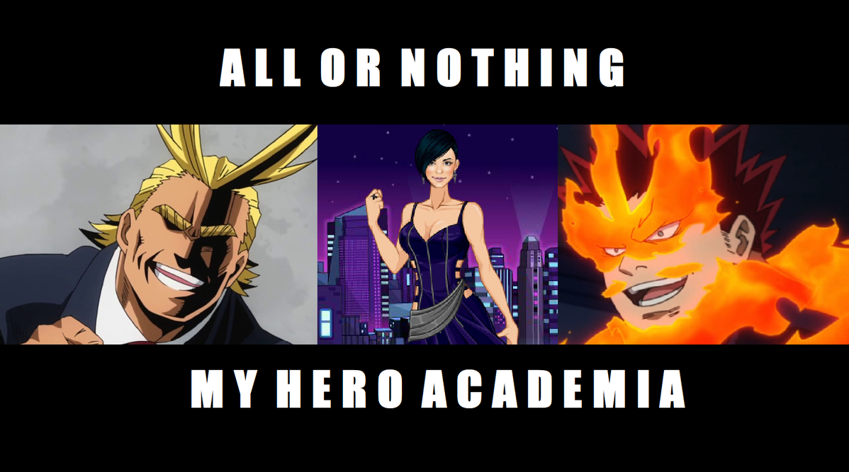 MHA: All Or Nothing Ch  9 by queen-of-olympus on DeviantArt