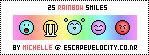 Rainbow Smilies 2