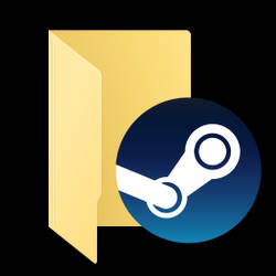 Steam folder icon 1.1 by C3POwen