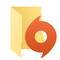 Origin folder icon 1.1 by C3POwen