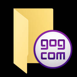 GOG Galaxy folder icon 1.0 by C3POwen