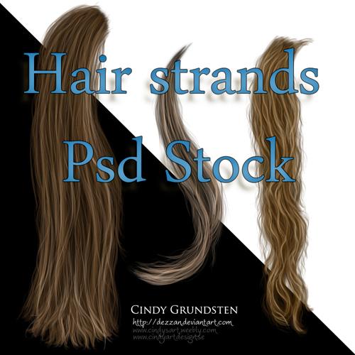 Hair Strands Stock