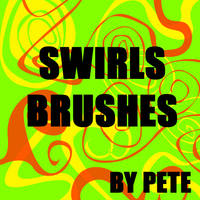 19 Twirls + Swirls PS Brushes by peterpson