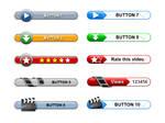 Web buttons by Sergey-Alekseev