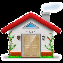 HOME icon by Sergey-Alekseev
