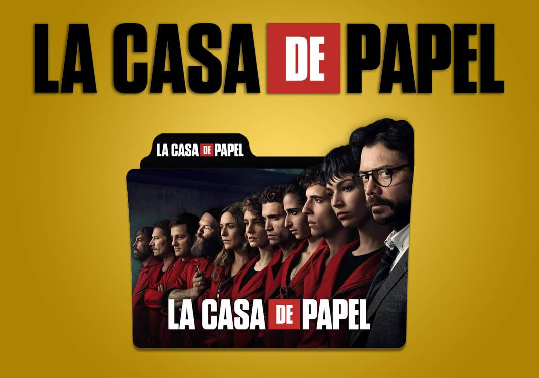 La Casa De Papel Season 3 Folder Icon V3 by MohamedZaeem on DeviantArt
