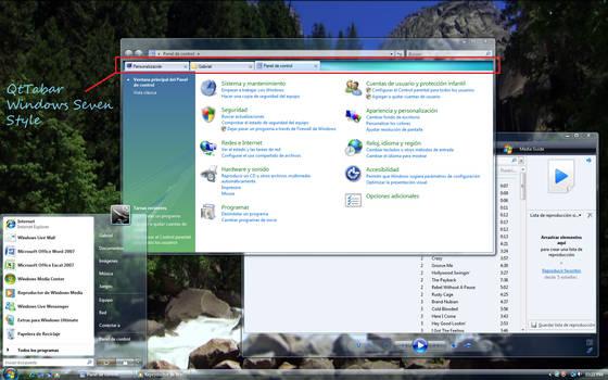 Windows Explorer Tab -Qttabar- by Z08-Styles