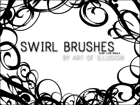 Swirl Brushes by Art-of-Illusion
