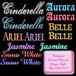 Disney Princess Styles - Ps