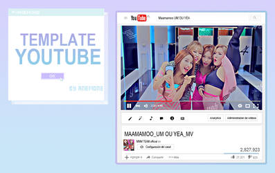 Template YOUTUBE By Anemone
