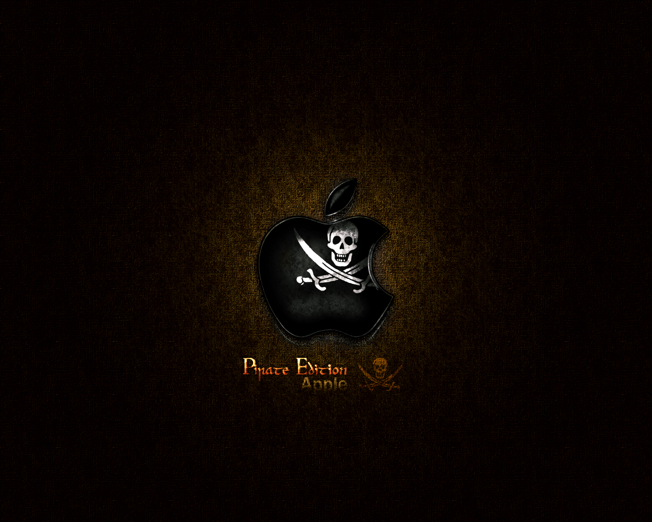 Apple Pirate Wallpaper By Easydisplayname On Deviantart