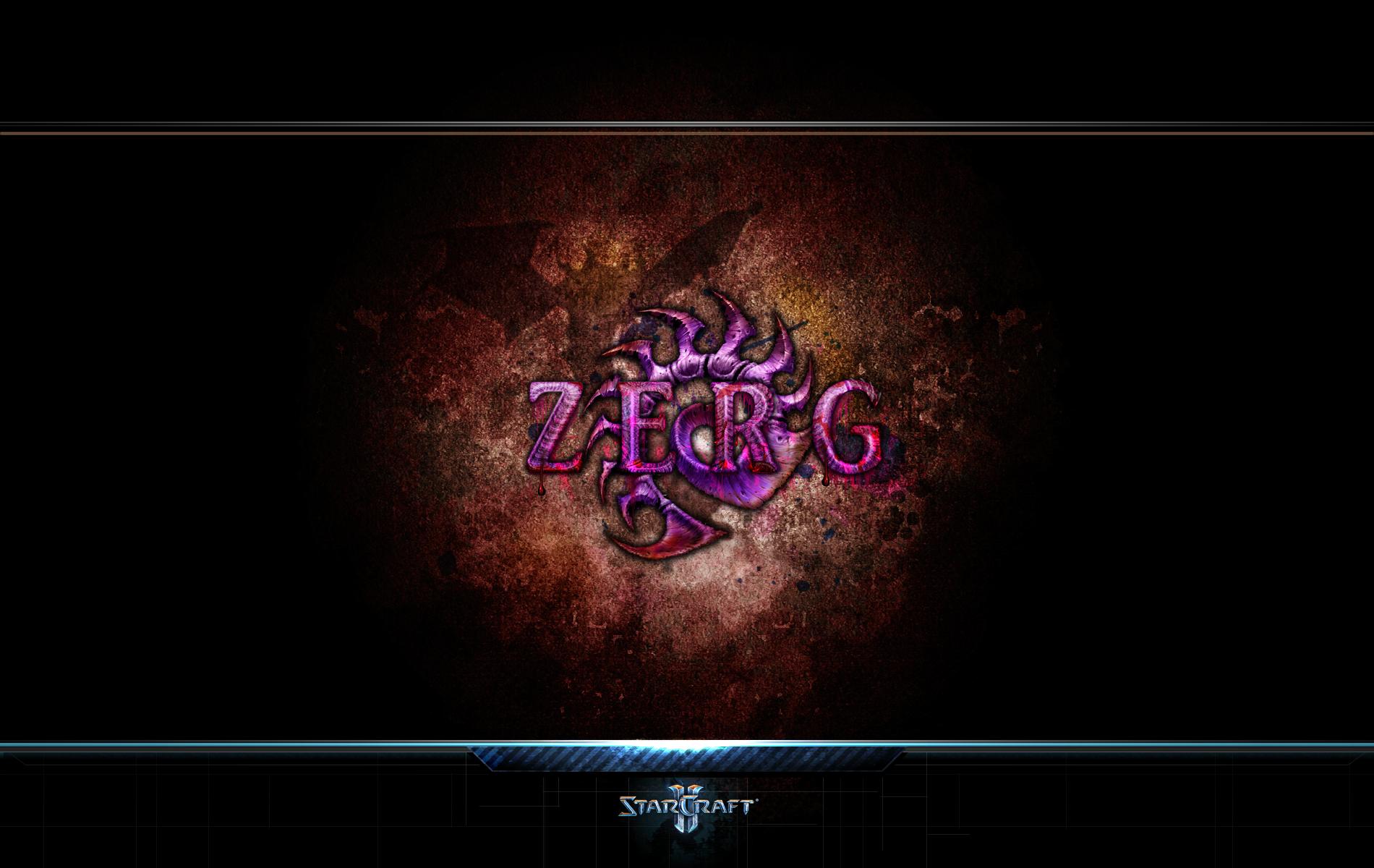 starcraft ii zerg wp by easydisplayname on deviantart