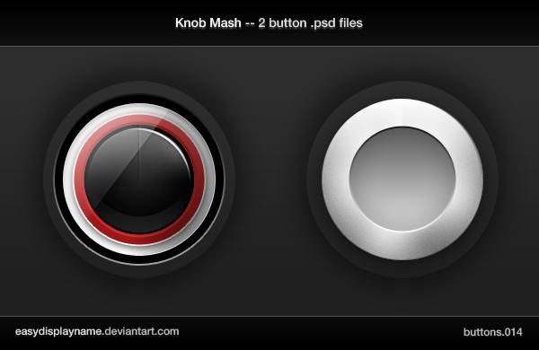 Knob Mash -- 2 .psd files by easydisplayname