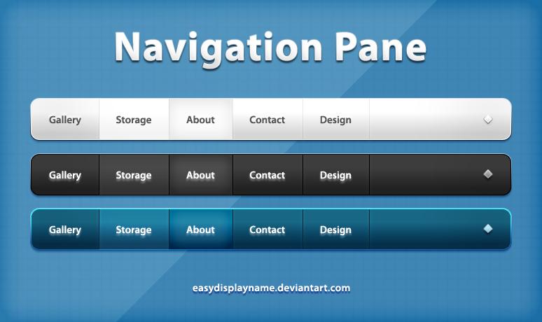 Navigation Pane by easydisplayname