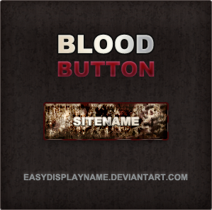 Blood Button by easydisplayname