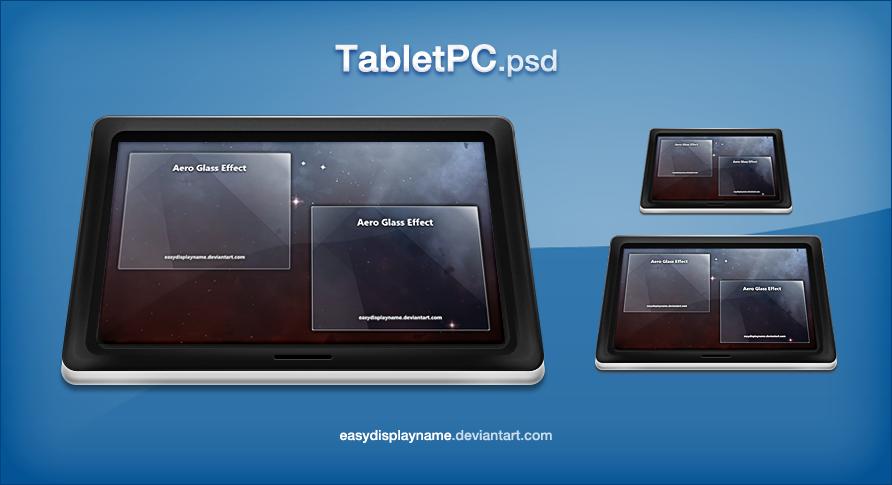 TabletPC.psd by easydisplayname