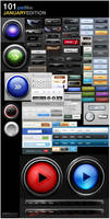 Button Collection: 101 files