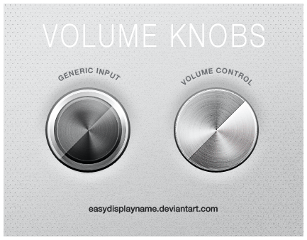 Volume Knobs by easydisplayname