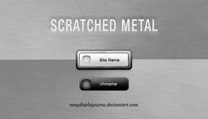 Sctrached Metal