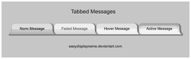 Tabbed Messages