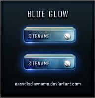 Blue Glow by easydisplayname
