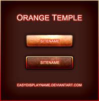 Orange Temple by easydisplayname