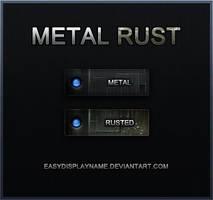 Metal Rust by easydisplayname