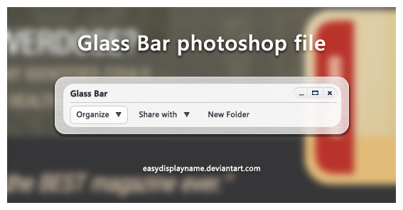Glass Bar by easydisplayname