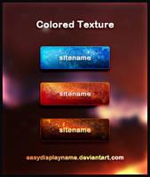 Colored Texture by easydisplayname