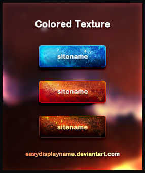 Colored Texture by easydisplayname