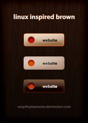 linux inspired brown