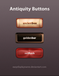 Antiquity Buttons