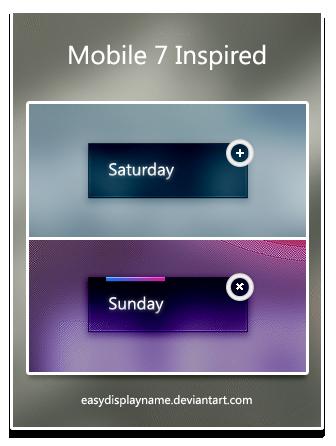 Mobile 7 Inspired by easydisplayname