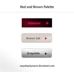 Red and Brown Palette