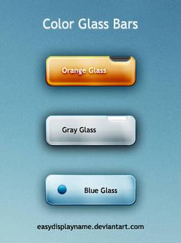 Color Glass Bars