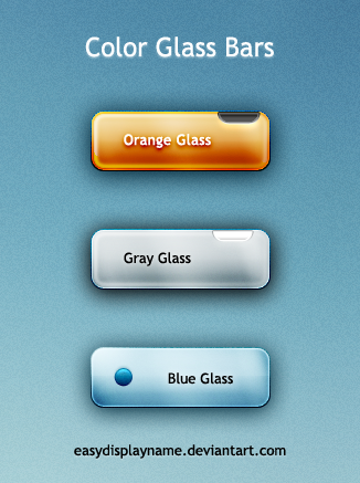 Color Glass Bars by easydisplayname